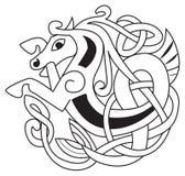 Keltisch paard Royalty-vrije Stock Fotografie