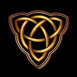 Keltisch volksornament royalty-vrije illustratie