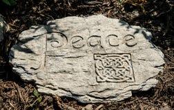 Keltisch vredesteken Stock Foto
