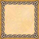 Keltische achtergrond Royalty-vrije Stock Afbeeldingen