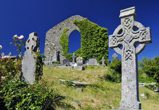 Keltische begraafplaats Stock Fotografie