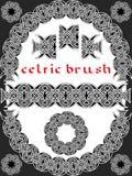 Keltische borstel Stock Foto