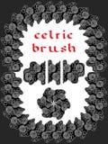 Keltische borstel Stock Foto's