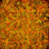 Keltische druïdehulpmiddelen 2 - Grungy achtergrond Royalty-vrije Stock Foto's