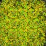 Keltische druïdehulpmiddelen - Grungy achtergrond Royalty-vrije Stock Fotografie