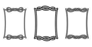 Keltische frames Royalty-vrije Stock Afbeelding