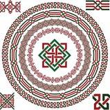 Keltische grens Royalty-vrije Stock Afbeeldingen