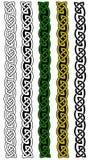 Keltische grenzen Royalty-vrije Stock Afbeeldingen