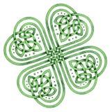 Keltische Klaver Royalty-vrije Stock Foto's
