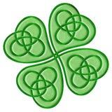 Keltische Klaver Stock Fotografie