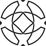 Keltische knoop #1 Royalty-vrije Stock Fotografie