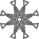Keltische knoop #63 Royalty-vrije Stock Foto