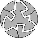 Keltische knoop #7 Royalty-vrije Stock Afbeelding