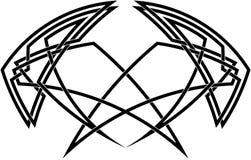 Keltische knoopdecoratie Stock Afbeelding