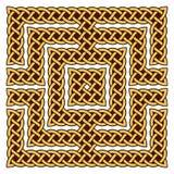 Keltische knoopgrens Royalty-vrije Stock Fotografie