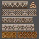 Keltische knopen Royalty-vrije Stock Foto's