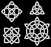 Keltische knopeninzameling Royalty-vrije Stock Afbeelding