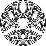 Keltische Knotenauslegung Lizenzfreies Stockbild