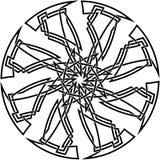 Keltische Knotenauslegung Stockfoto