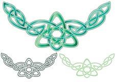 Keltische Knotenverzierung Stockbild