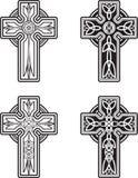 Keltische Kreuze Stockfotos