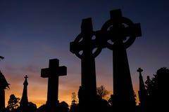 Keltische Kreuze Stockfotografie