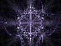 Keltische kunst - 3D fractal achtergrond Stock Foto