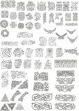 Keltische motieven Royalty-vrije Stock Afbeeldingen