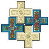 Keltische motieven Royalty-vrije Stock Foto