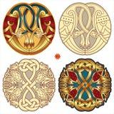 Keltische motieven Royalty-vrije Stock Afbeelding