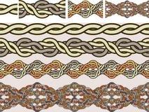 Keltische nationale ornamenten Royalty-vrije Stock Afbeeldingen