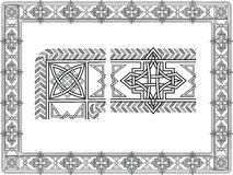 Keltische patronen Stock Foto