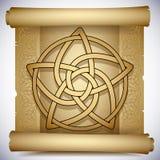 Keltische pentacle Royalty-vrije Stock Foto's