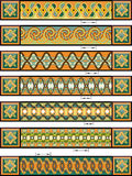 In Keltische stijl Royalty-vrije Stock Afbeeldingen