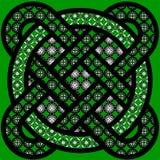 Keltische tracery Stock Foto