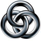 Keltische trouwring of collectieve eenheidssumbol vector illustratie