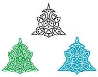 Keltische Verzierung Lizenzfreies Stockbild