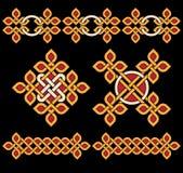 Keltische Verzierungen Stockbild