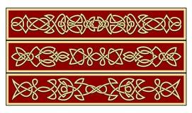 Keltische Verzierungen Lizenzfreie Stockbilder