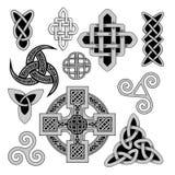 Keltische Volksverzierung Stockbild