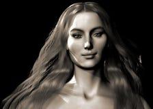 Keltische Vrouw   Royalty-vrije Illustratie