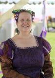 Keltische Vrouw Royalty-vrije Stock Afbeelding