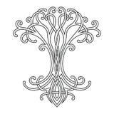 Keltischer Baum des Lebens vektor abbildung