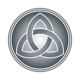 Keltischer Dreiheitknoten Stockfoto
