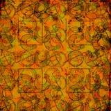 Keltischer Druide bearbeitet 2 - Grungy Hintergrund Lizenzfreie Stockfotos