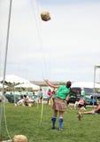 Keltischer Frauen-Hüllen-Wurf Stockfotos