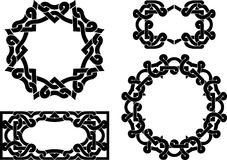 Keltischer Grenzsatz Stockbild