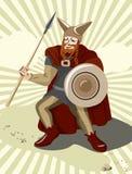 Keltischer Keltic Soldat lizenzfreie abbildung