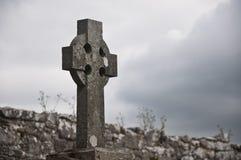 Keltischer Kirchhof Lizenzfreie Stockbilder
