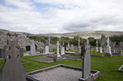 Keltischer Kirchhof Stockfoto